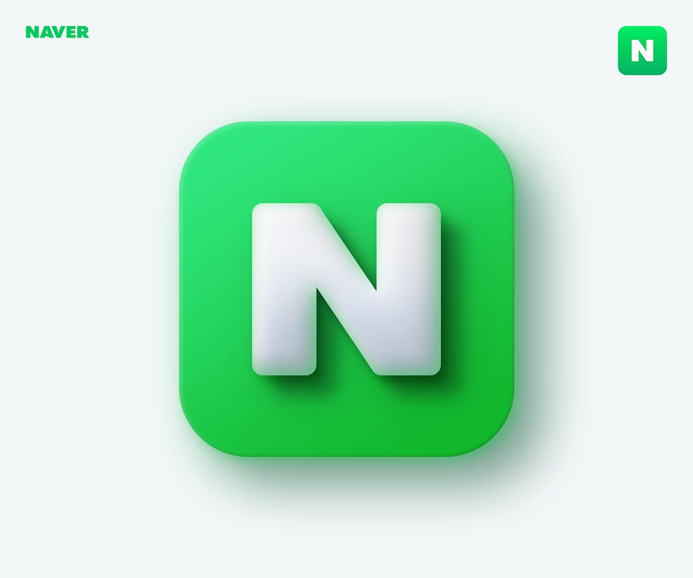 3D app big sur bigsur Icon ios minimalist neumorphism apple mobile