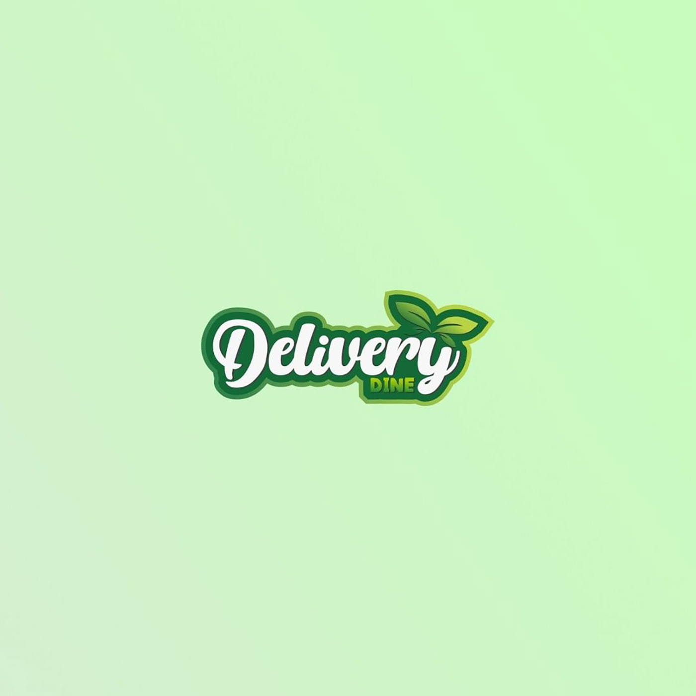 Delivery Dine Logo By Anzy Designs