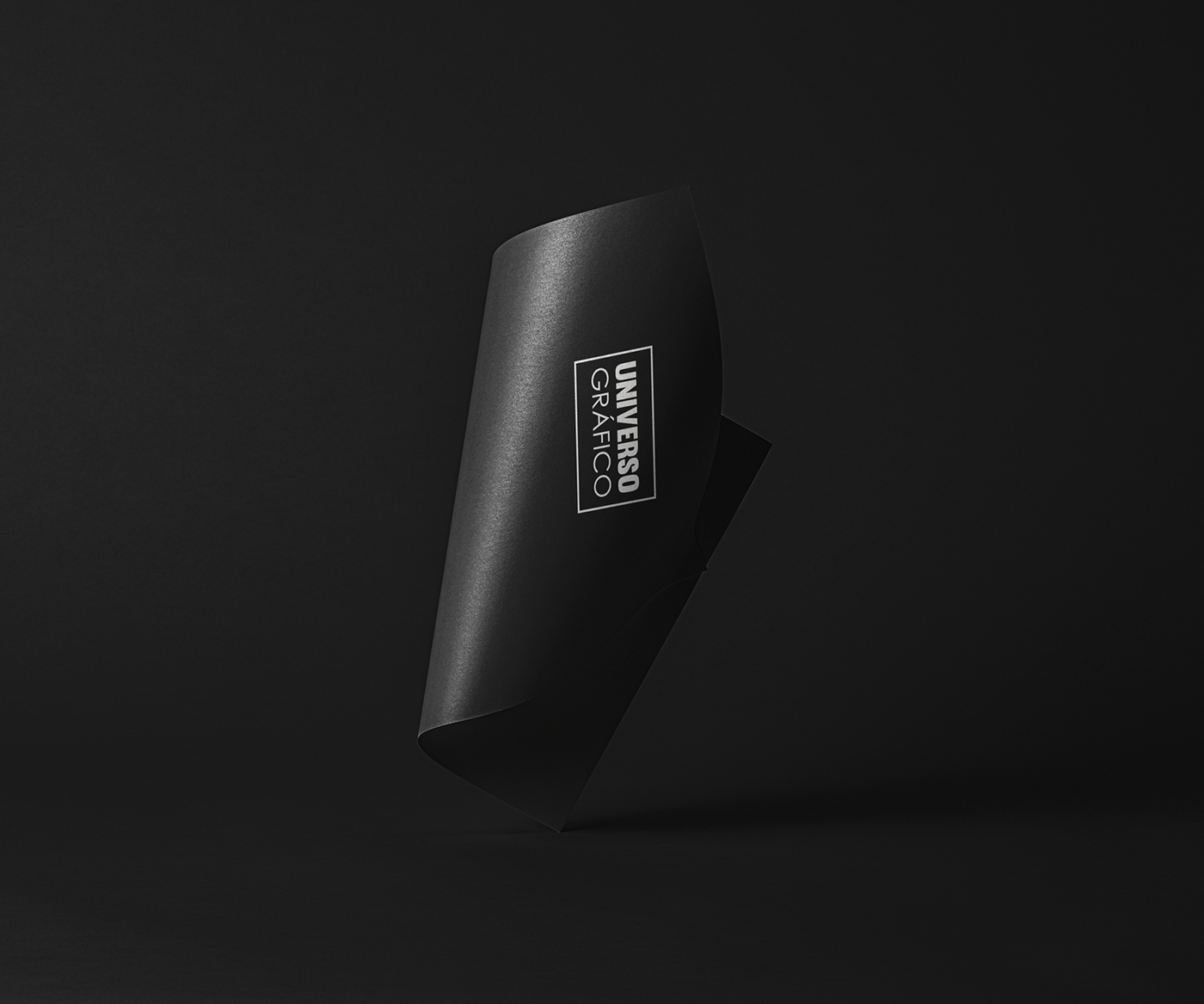 black brand dark design grafico logo Logotype personal soft universo gráfico