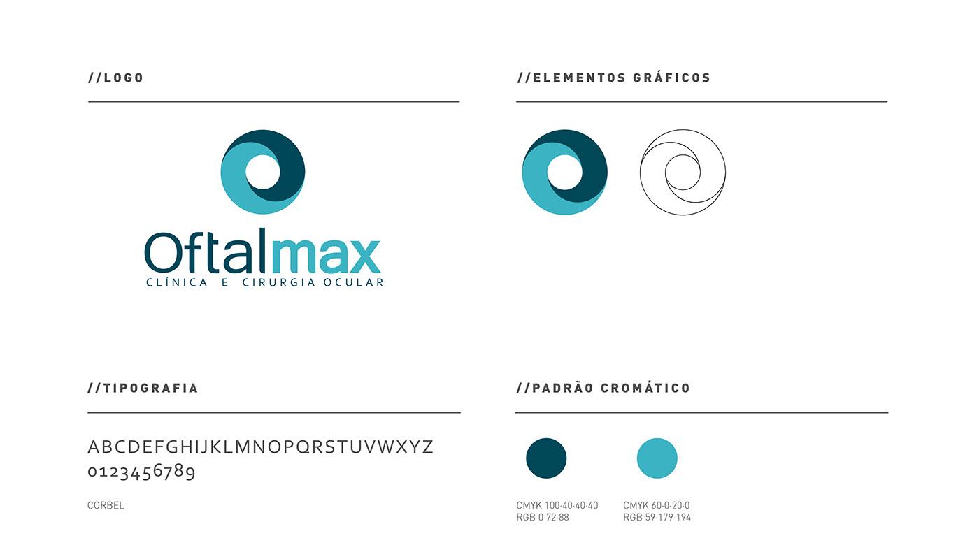 oftalmax corisco design Sinalização identidade visual marca logo Signage wayfinding sign
