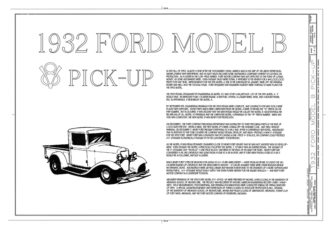 1932 Ford Pickup On Behance Fuel Filter For This Project I Started With A Detailed Blueprint Set That Found Using Google Images Advanced Search Tools Once Had The Blueprints Organized Them