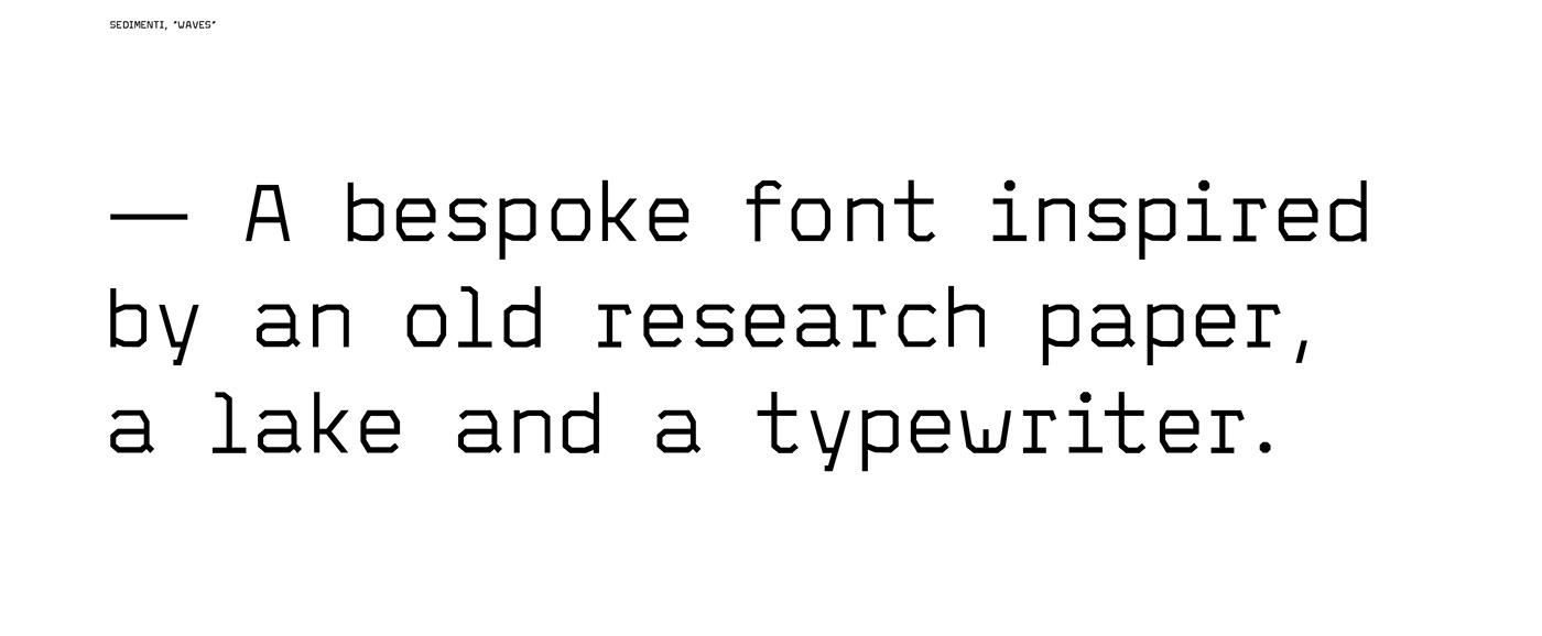 Olivetti studio techno typeface free typeface sedimenti olivetti typeface nicola acler font typography   typewriter