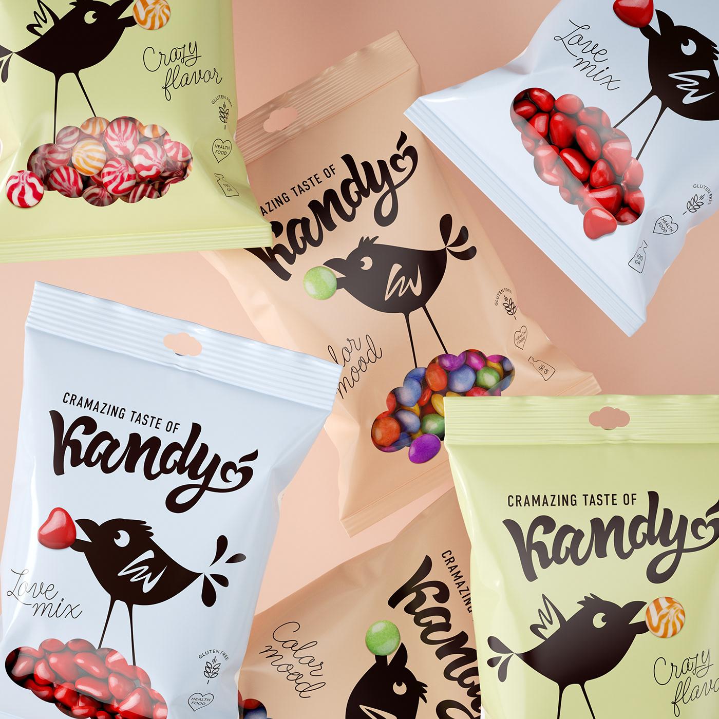 有美感的19款糖果包裝設計欣賞