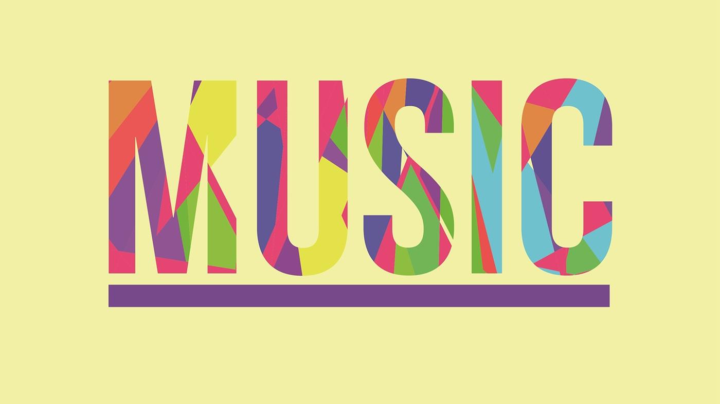 Adobe Illustrator Tutorial Music Typography Pop Art On Behance