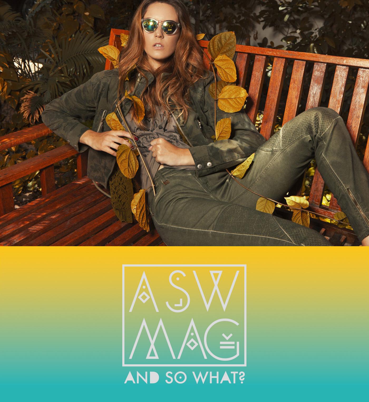 recife Taryn Polieste ASW mag magazine editorial lettering logo marca revista moda Fotografia season Colcci