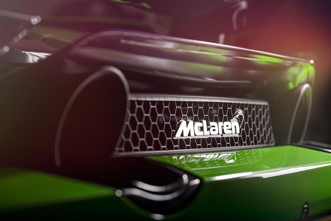 automotive   location McLaren Photography  photoshop print retouching  studio supercar