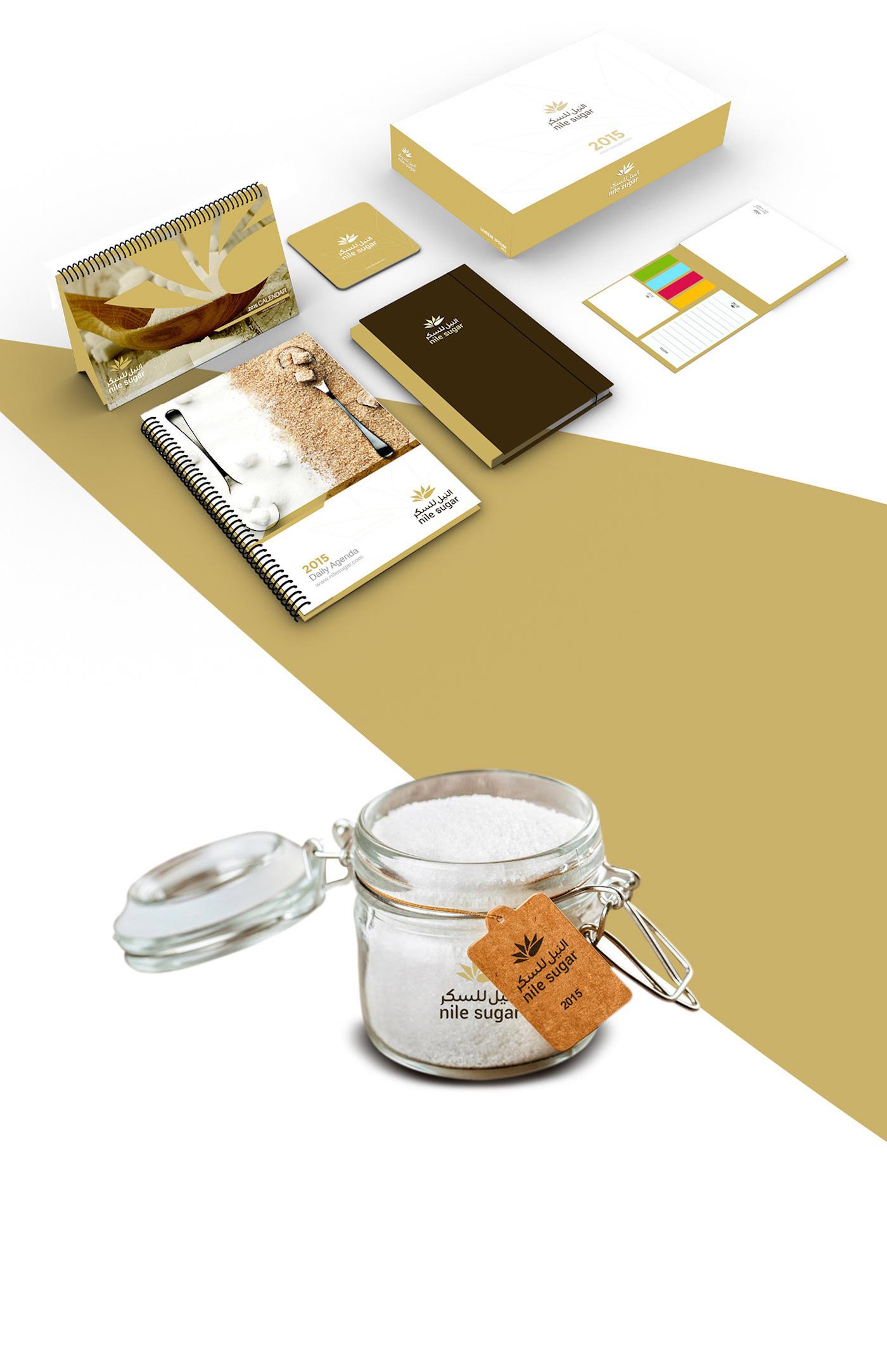 creative Stationery sugar nile factory industry Brandinc brandinc. brand identity