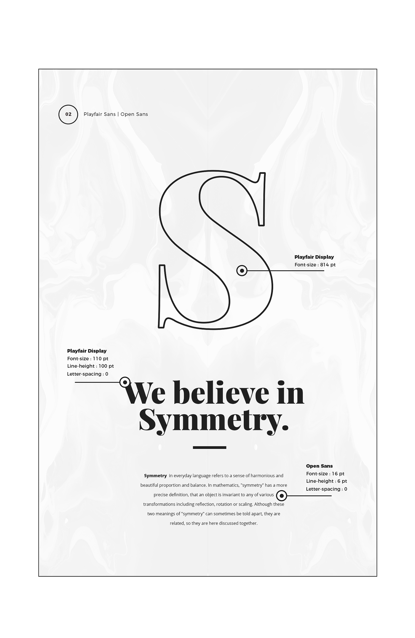 5 Google Fonts Trends and Combinations 2017 on Behance