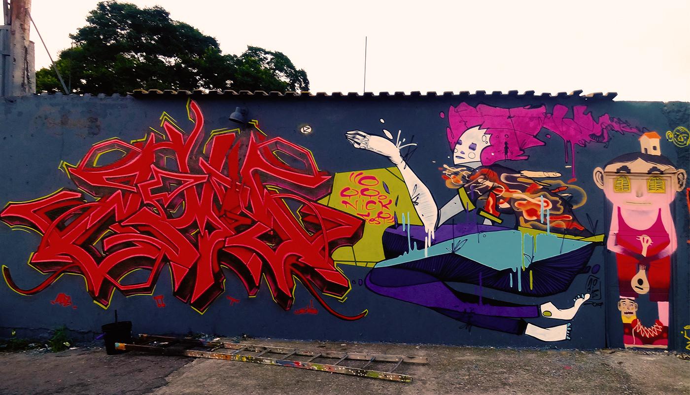 Image may contain: sky, drawing and graffiti