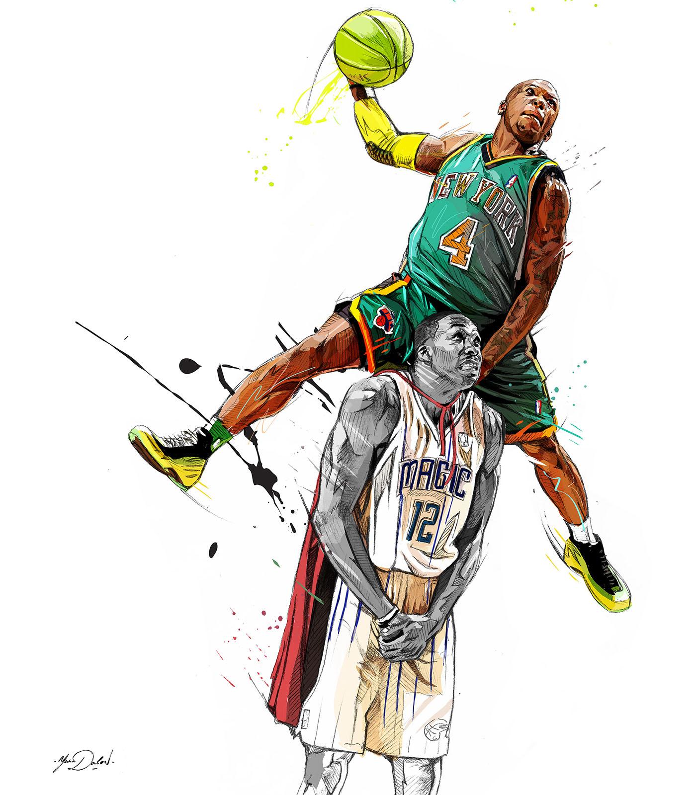 russell westbrook dunk wallpaper