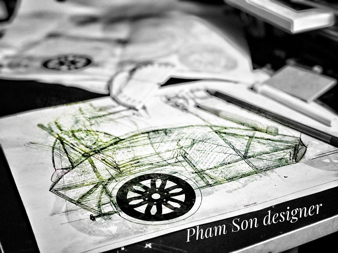 design phamson designer side car
