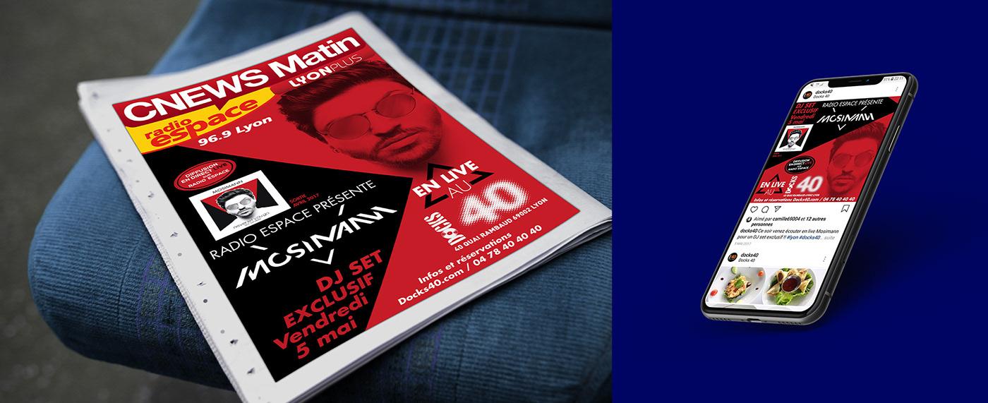 concert dj flyer jazz live live show mosimann orliński poster showcase