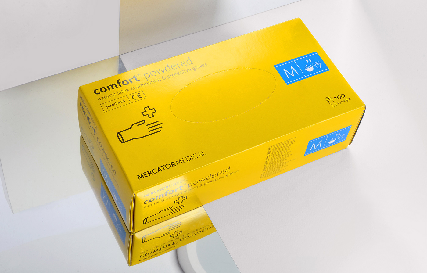 gloves Glove Packaging refresh medical Mercator Health specialist system manual