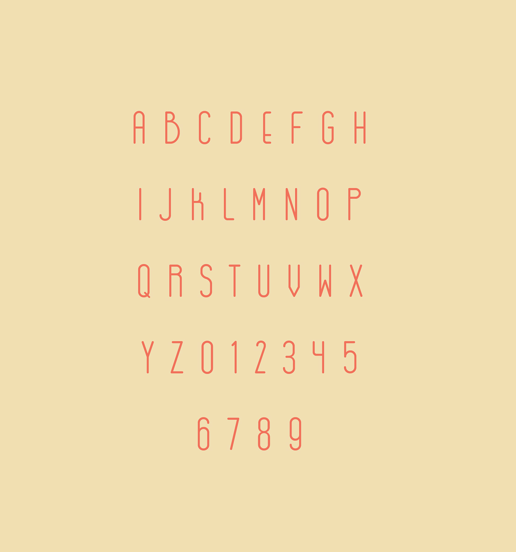 font type gogóia gal Typeface graphic Free font freebie fontfabric Brazilian Tropical