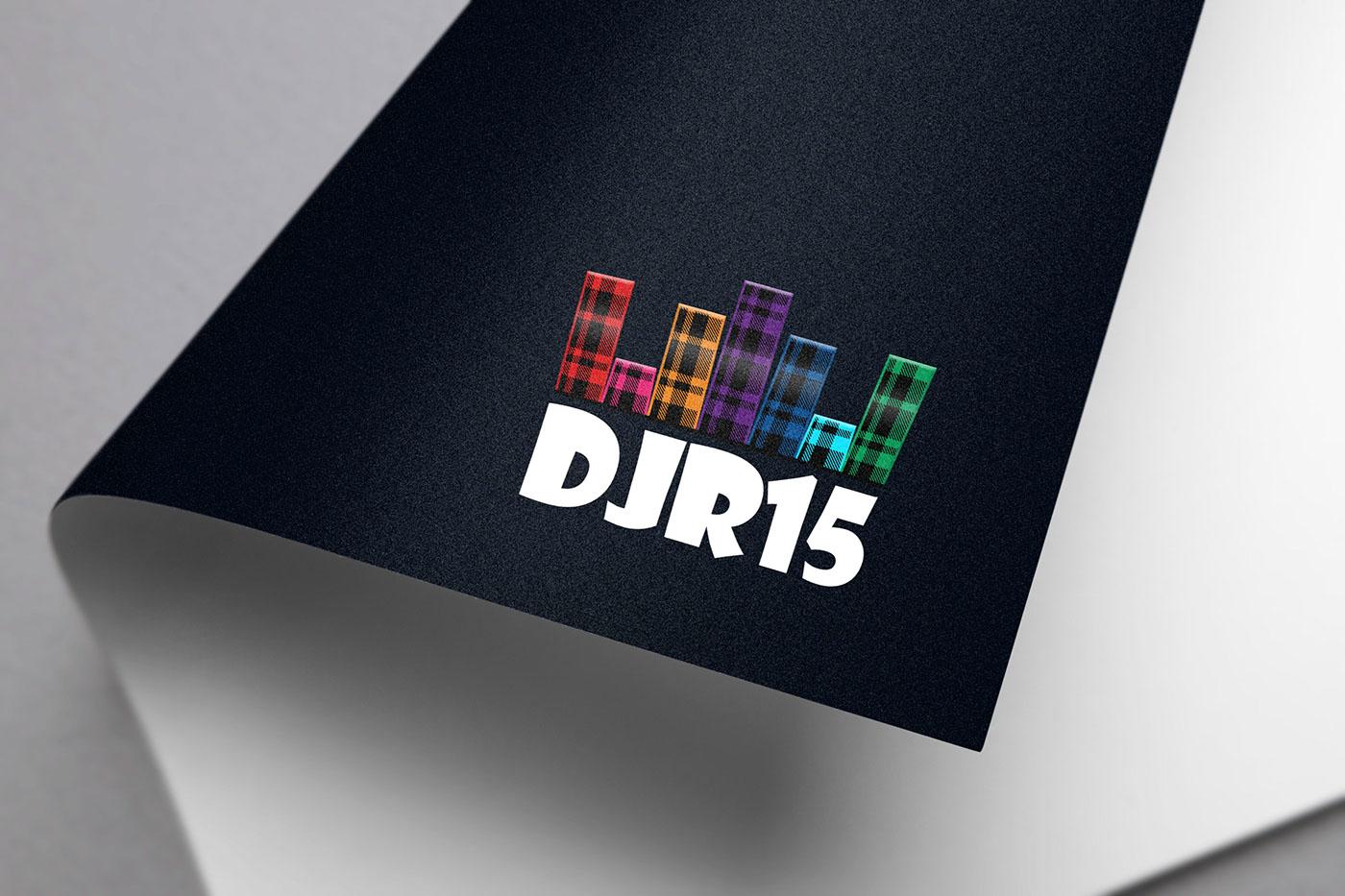 equalizer dj music sound tartan plaid