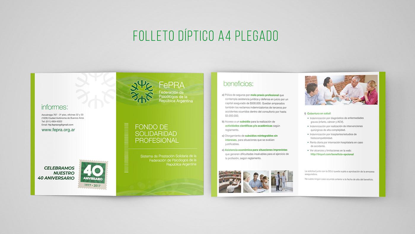 folleto flyer diptico banner print impresos presentación Powerpoint Quicktime