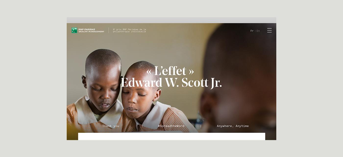 bnp Philanthropy  Bank charity children Education award non-profit prize Events