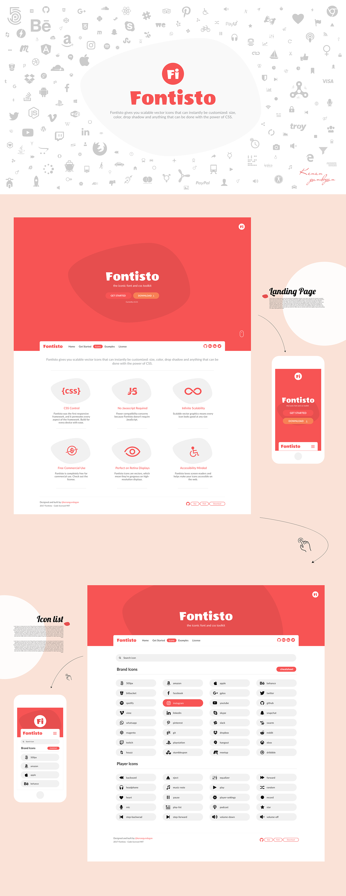 font Icon font icon icon font web font icon set icon pack icon library