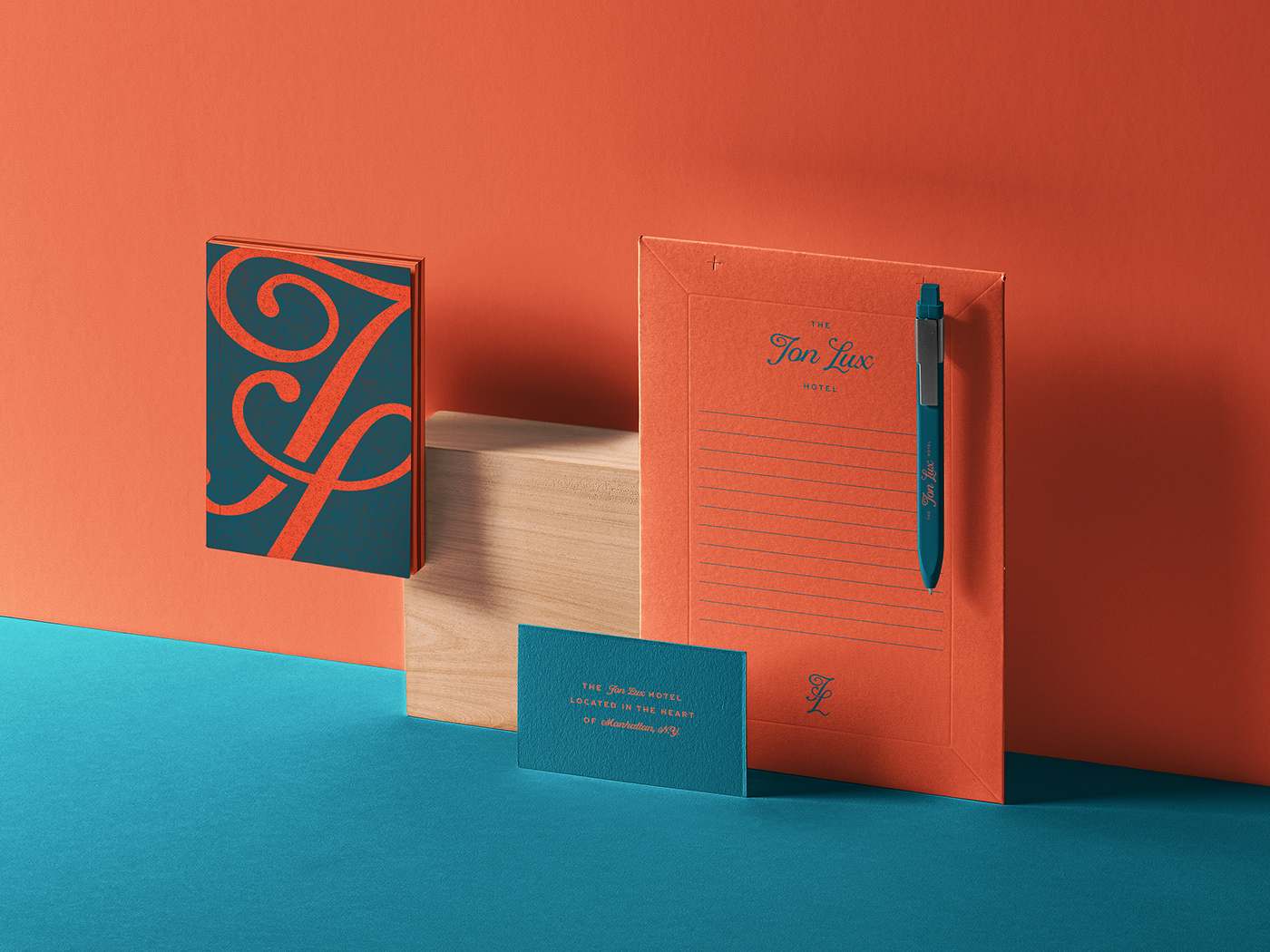 branding  logo type hotel identity Web print Layout business card color