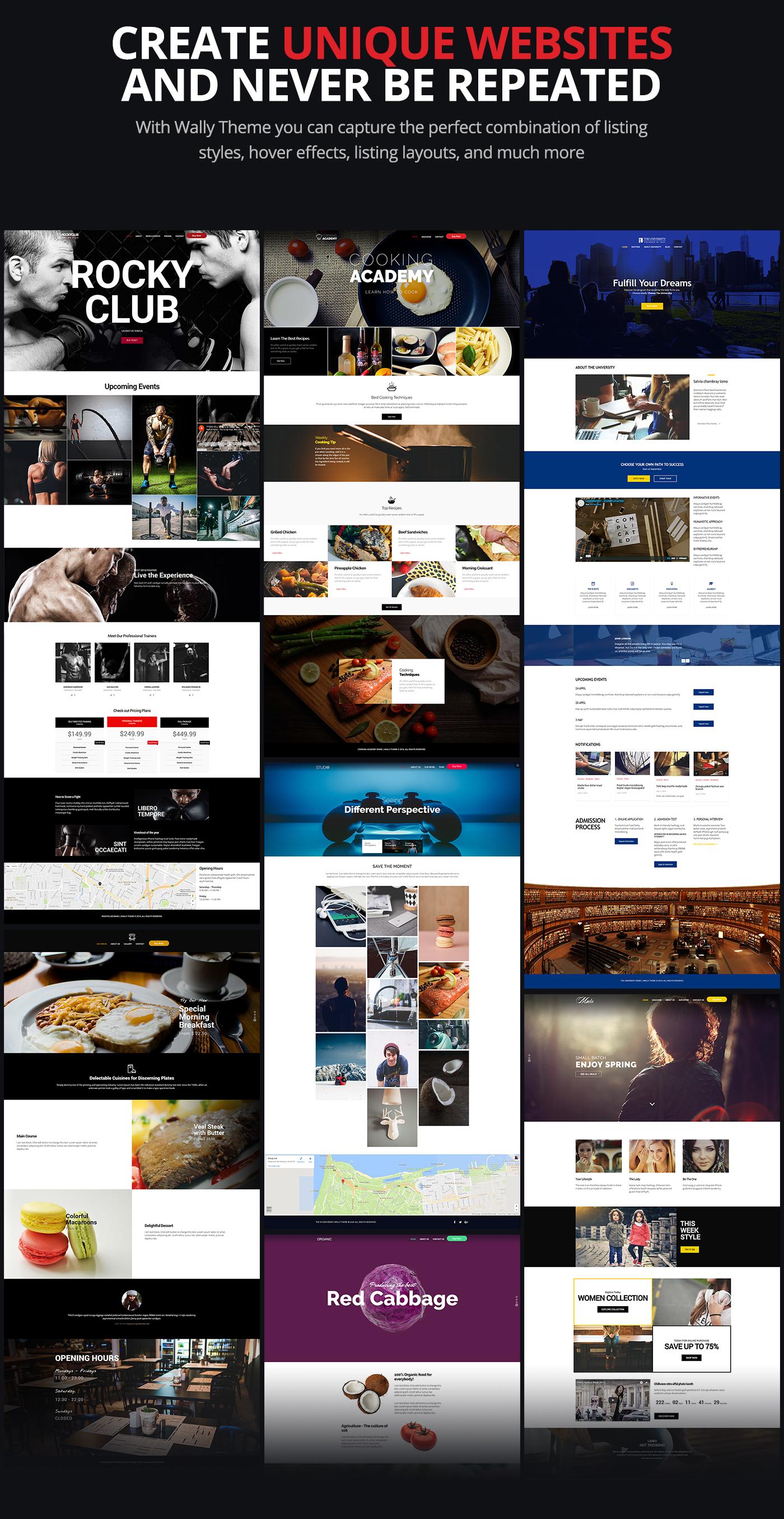 wordpress Theme UI ux Web design envato themeforest