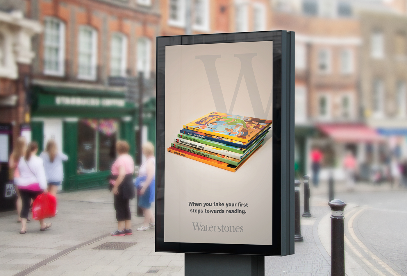 фотография в рекламе книги