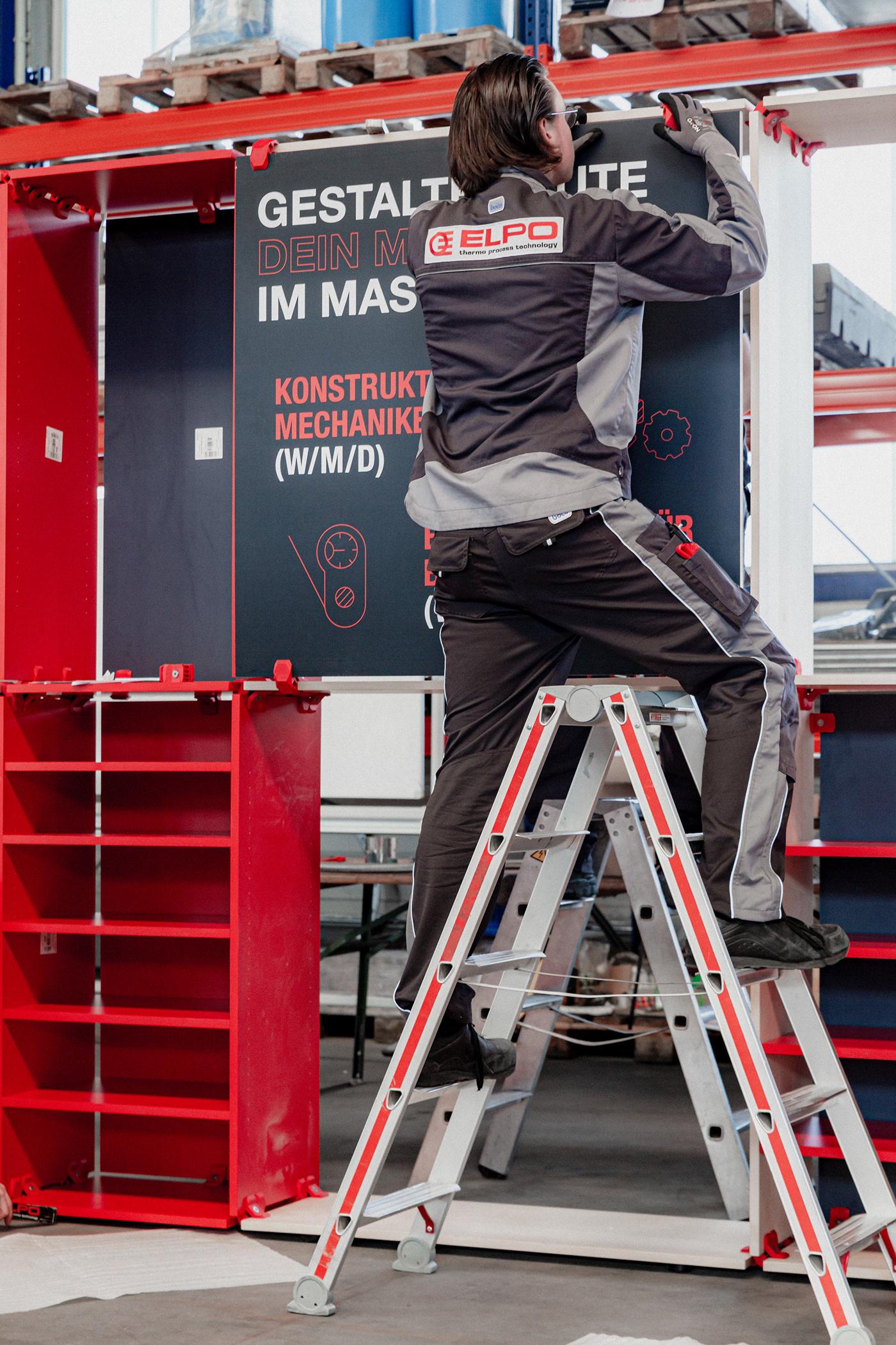 branddesign branding  brandspace design Holz Interior interiordesign manufacture Messe schreiner