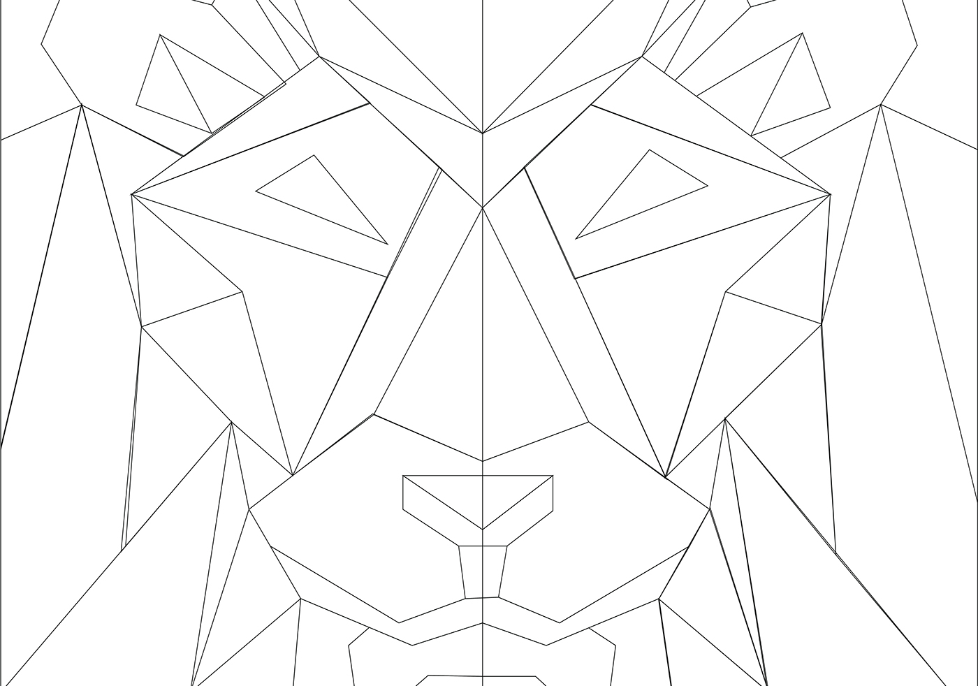 Low Poly Animals | Graphic Design, Illustration, UX Design