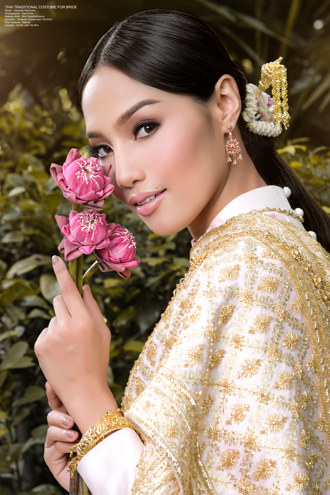 THAI TRADITIONAL COSTUME FOR BRIDE
