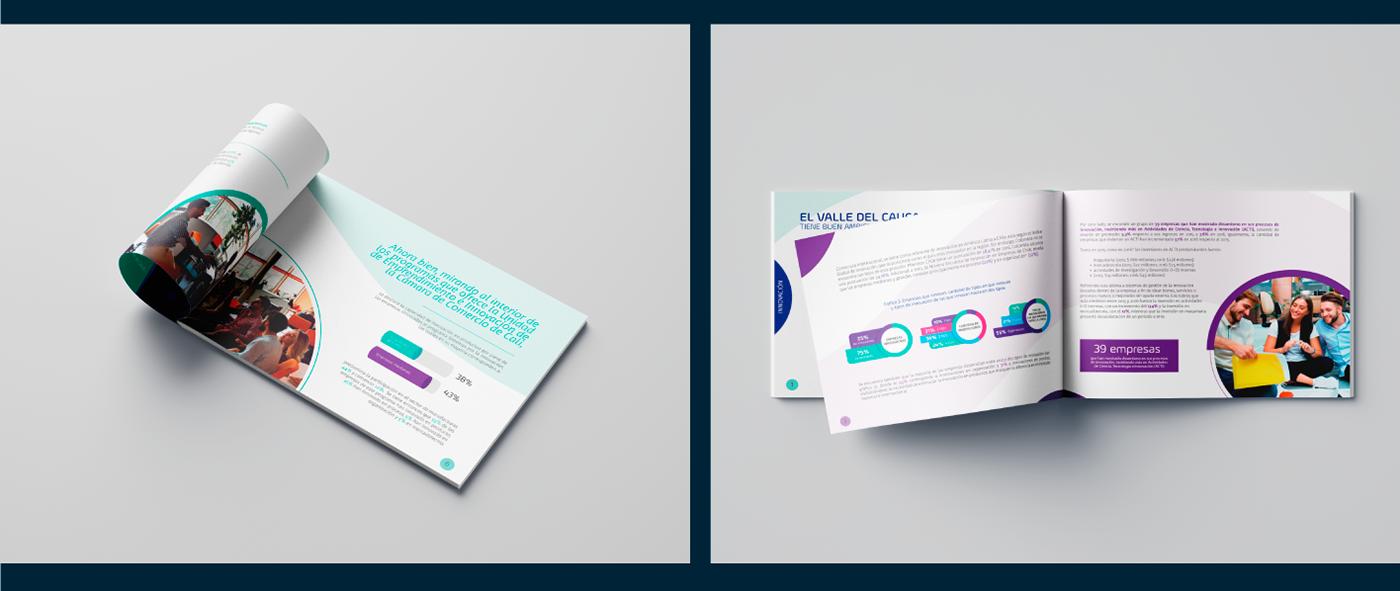 Diseño editorial ebook diseño gráfico brochure
