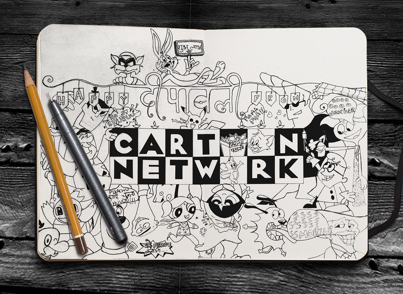 Best Era of Cartoon Network on Behance
