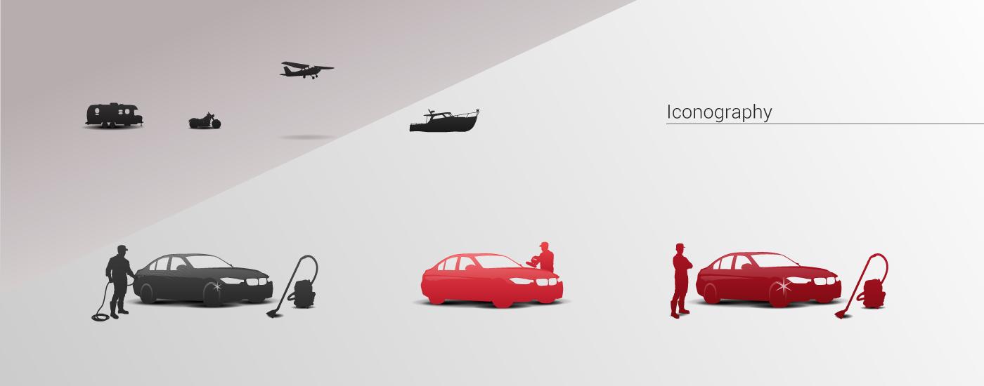 Web Design  ux/ui marketing   Ecommerce Carwash auto detail automotive   web development  car Mobile services