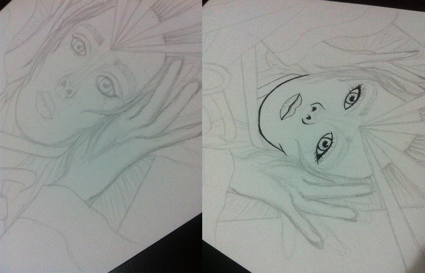 simone Simone Simons ILUSTRA arte ink pencil nanquim caneta lápis desenho