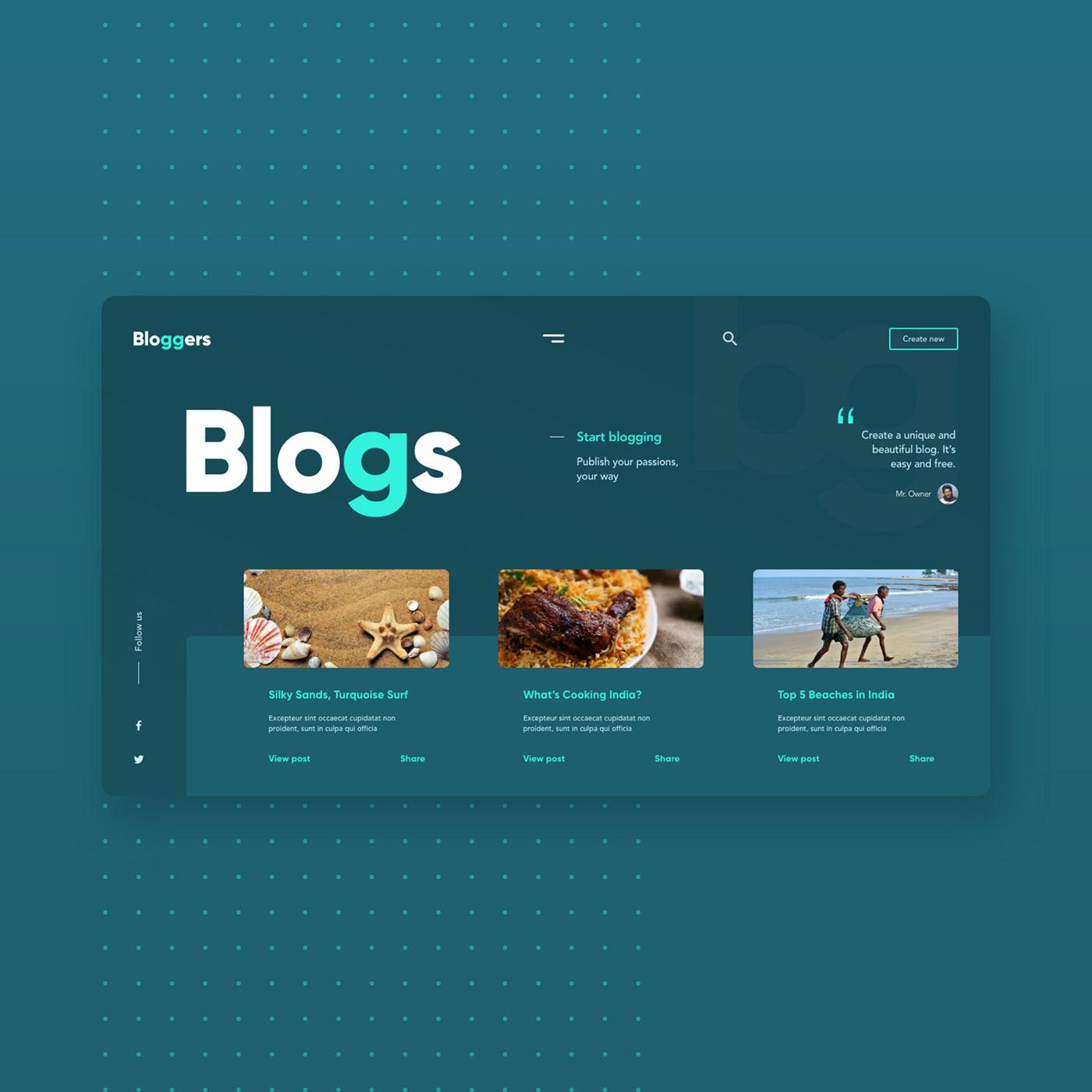 Adobe XD blogs designer designs Logo Designs ui designs UI inspiration  UX Designs web designs Webdevelopment