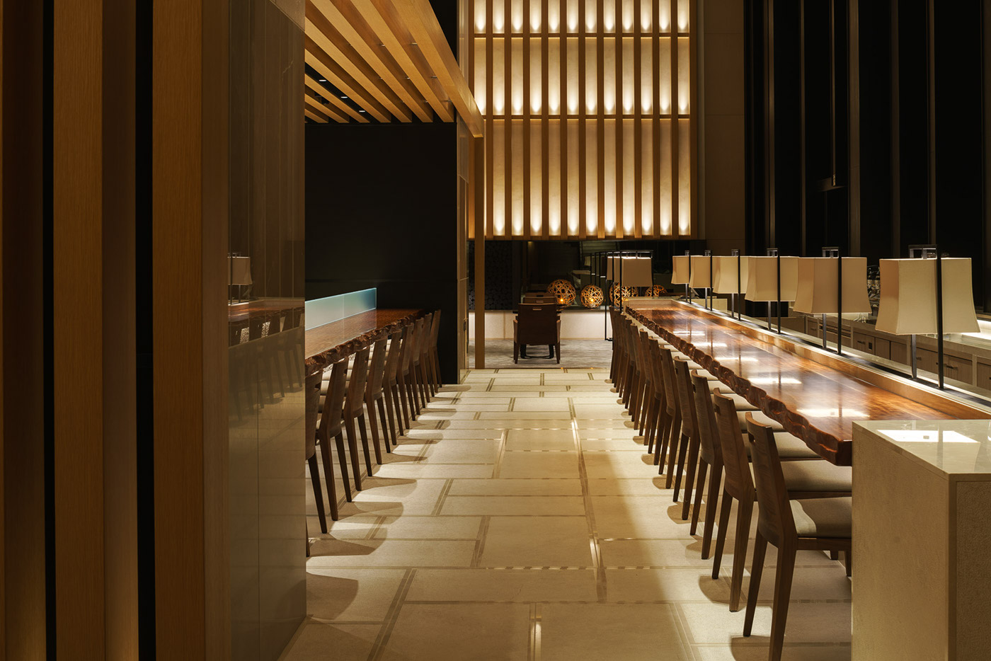 Photography brasserie in four seasons hotel kyoto for Design hotel kyoto