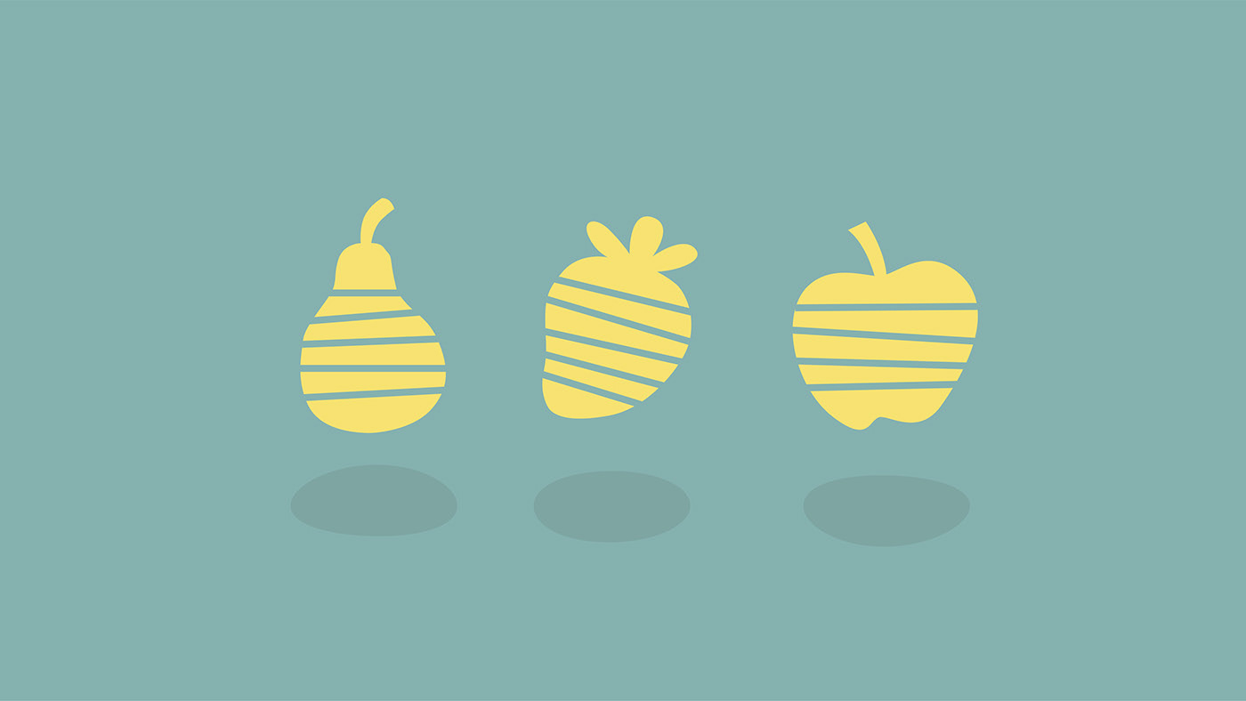 branding  Fruit Packaging fruta lettering logo Food  vegan