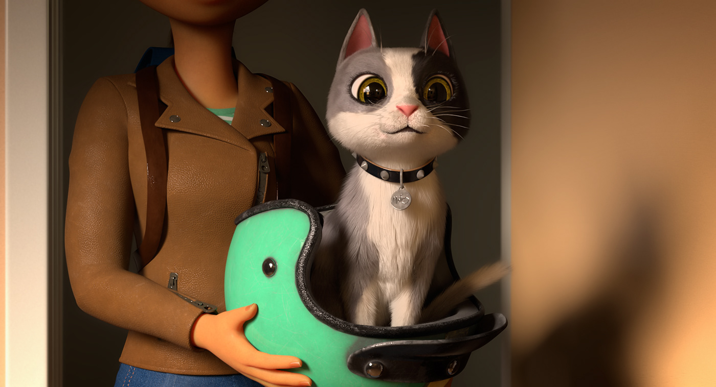 3D animation  Cat CGI Advertising  campaign