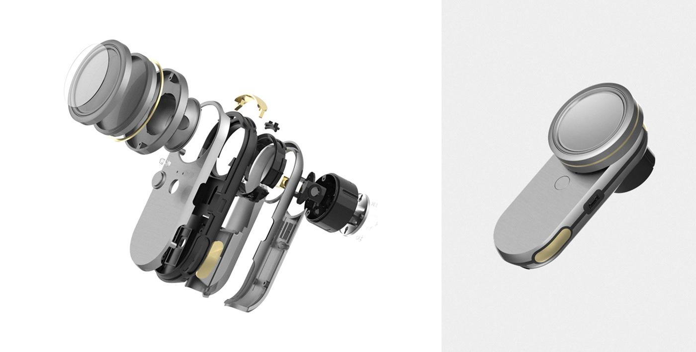 design device industrial medical minimal product Samsung Smart stethoscope storylab