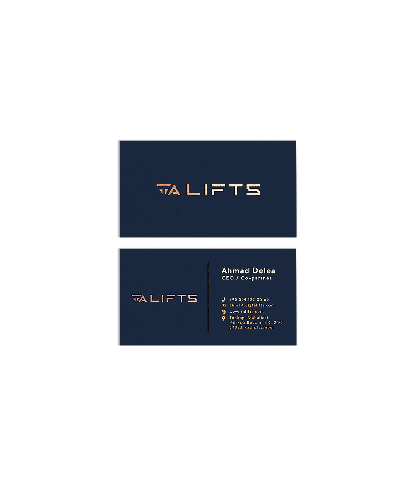 blue brand identity gold identity lift logo Logotype Minimalism mmml pantone