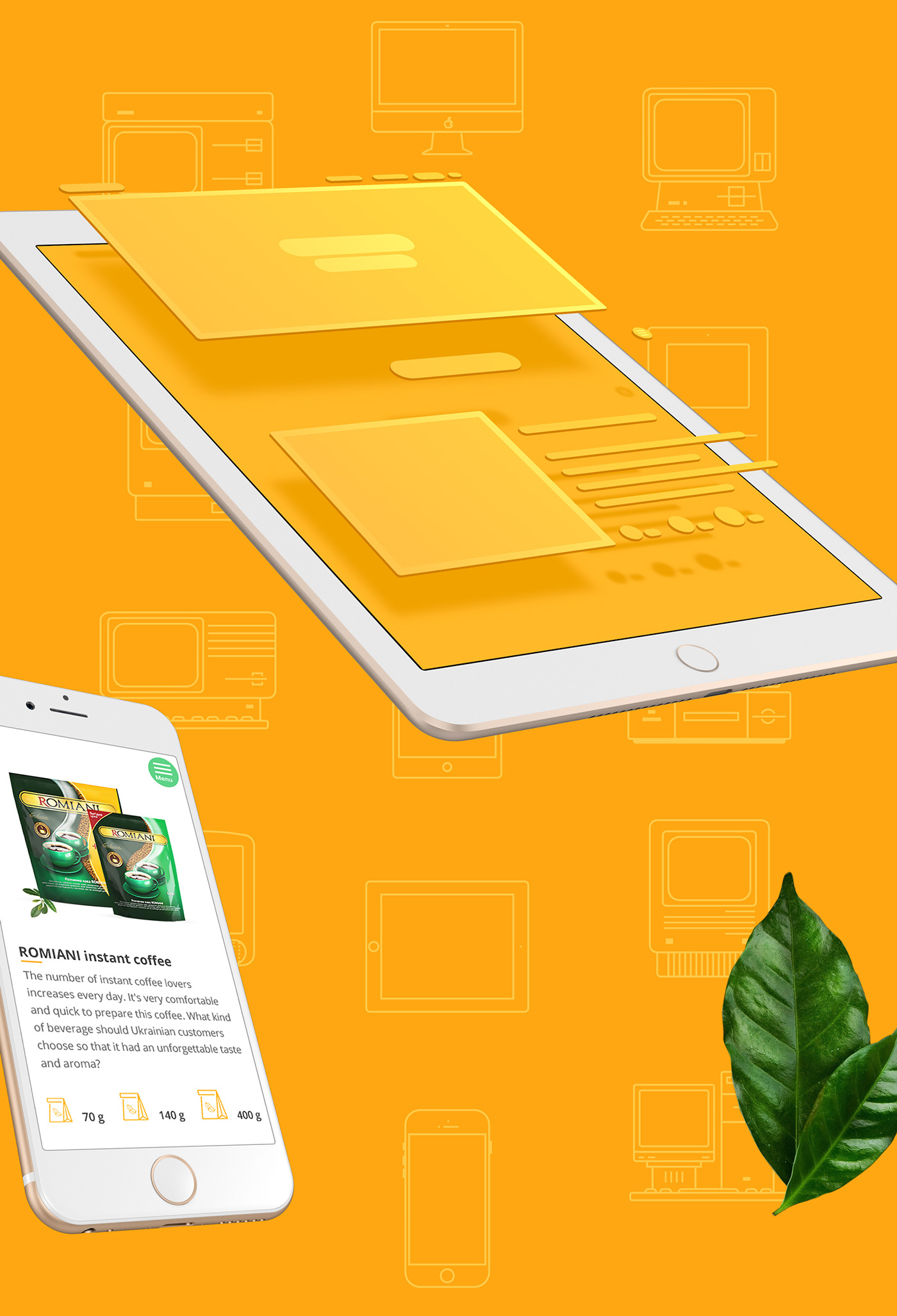 Web Web & Mobile UI/UX Design Prototyping user-experience research coffe package Adobe Photoshop adobe illustrator