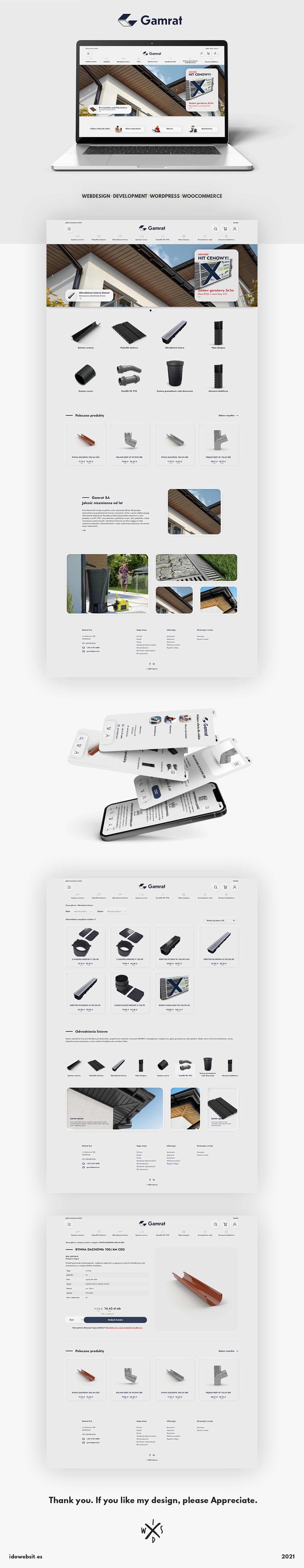 light wordpress theme sklep woocommerce ui design Web Design  Webdesign website layout woocommerce layout wordpress theme design