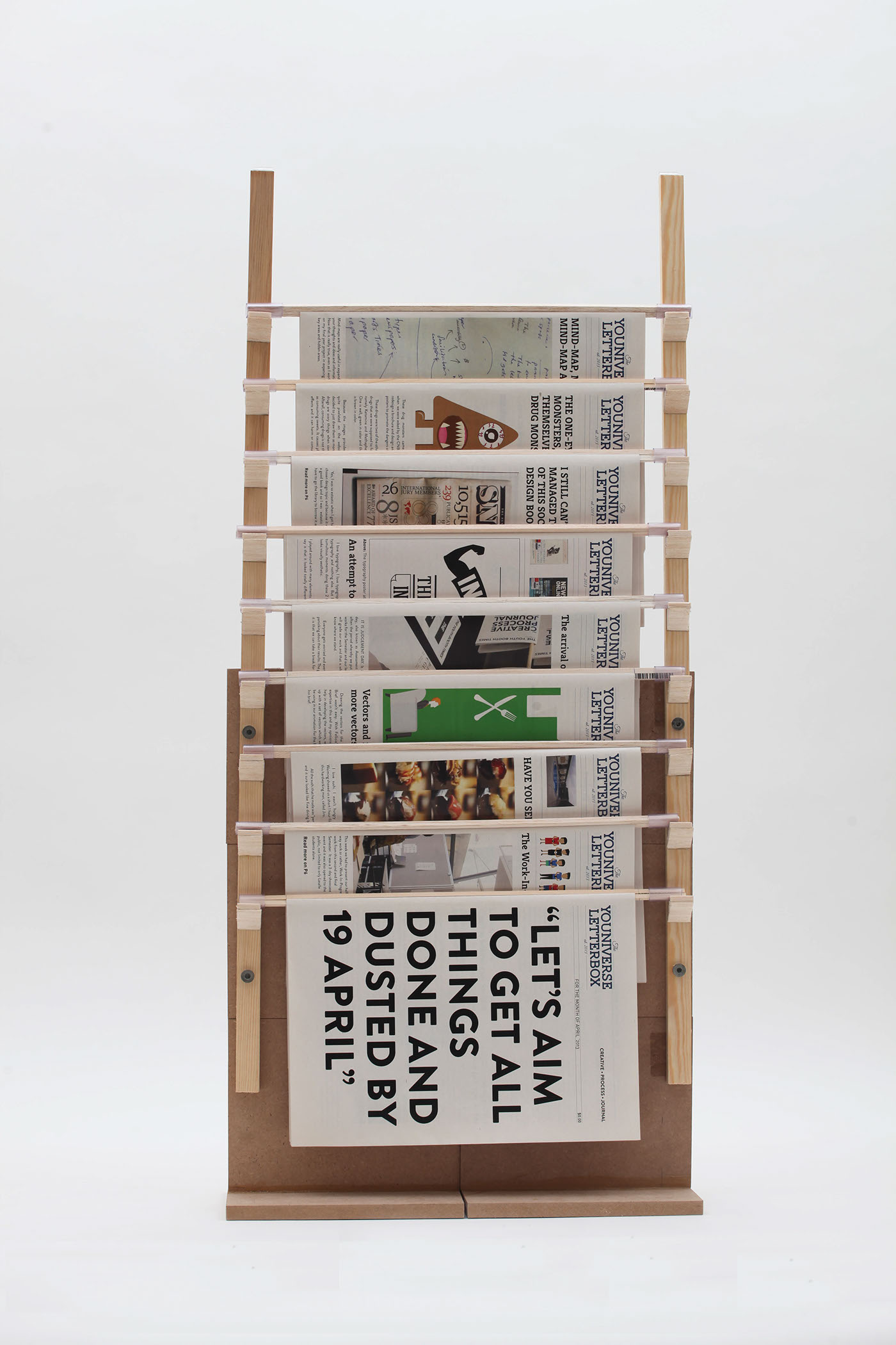 Newspaper Stand Designs : The newspaper stand creative process journal on behance