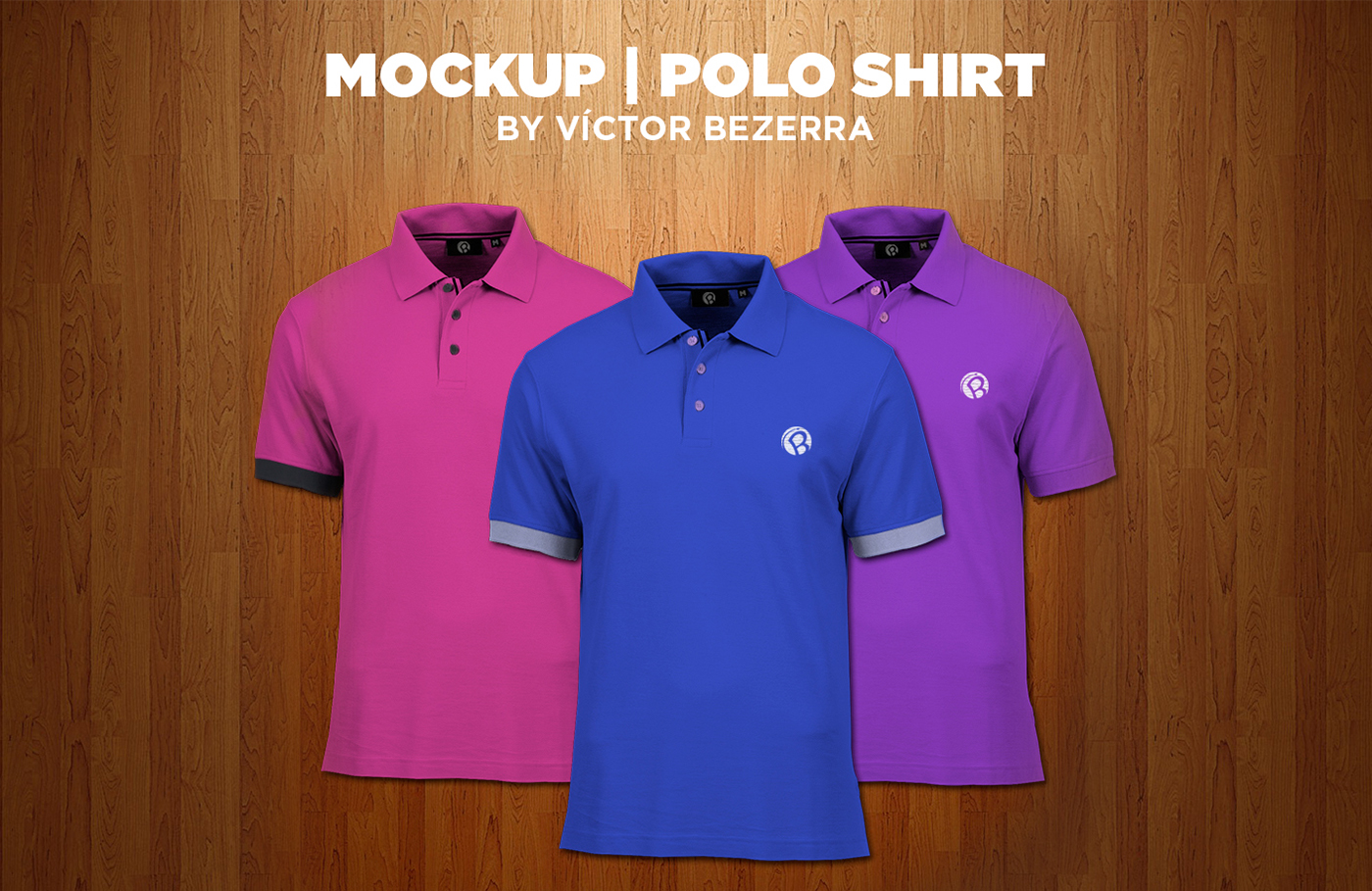 Free Psd Mockup Polo Shirt On Behance Kaos Polos Red Misty