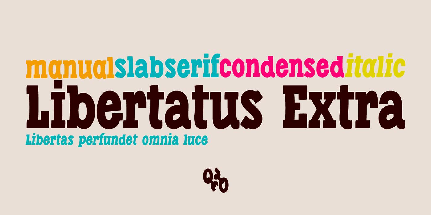 deFharo spain Freelance serif slab-serif Latin Extended-A open type bitcoin condensed italics
