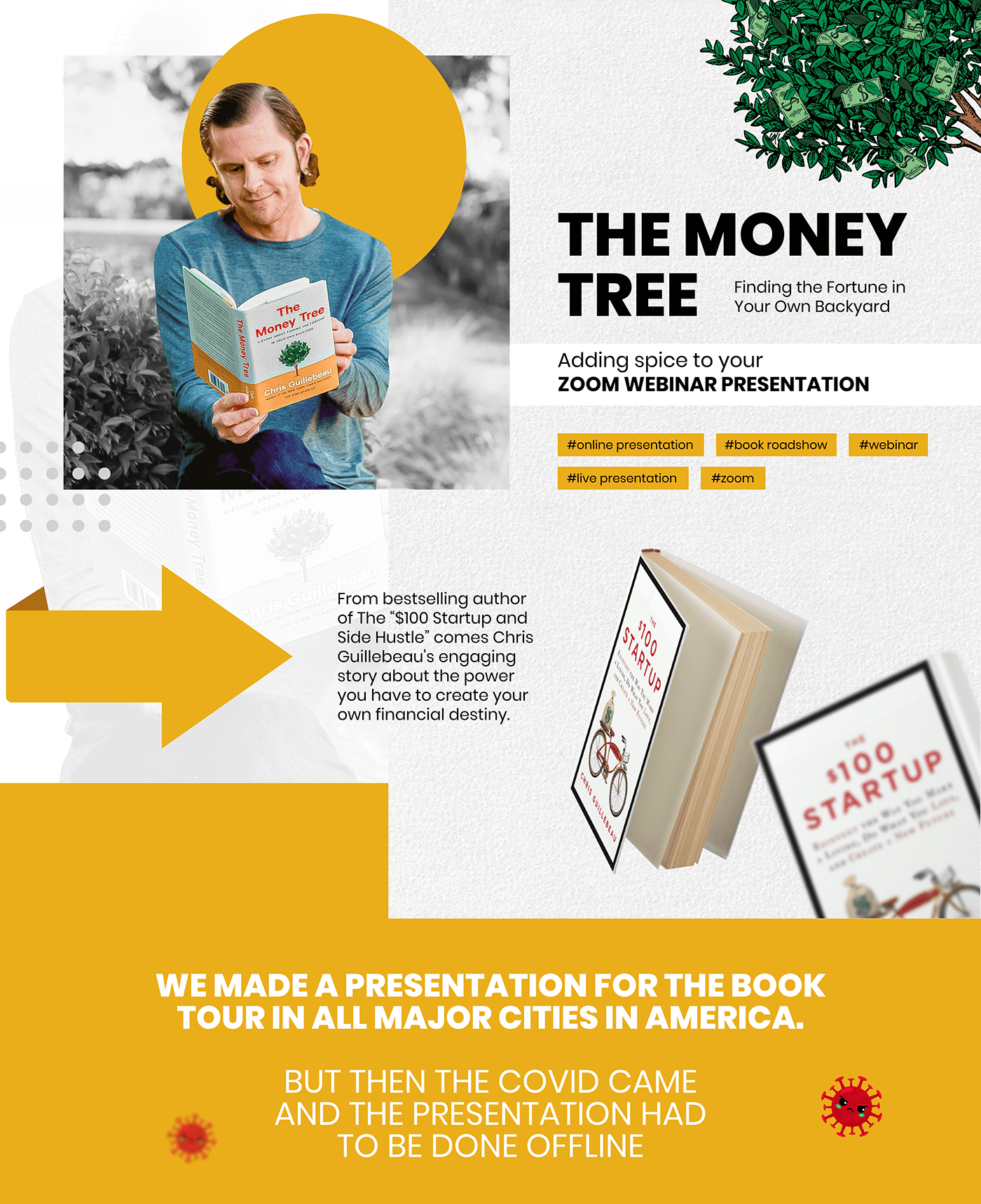 Chris Guillebeau,money tree,pitch deck,presentation