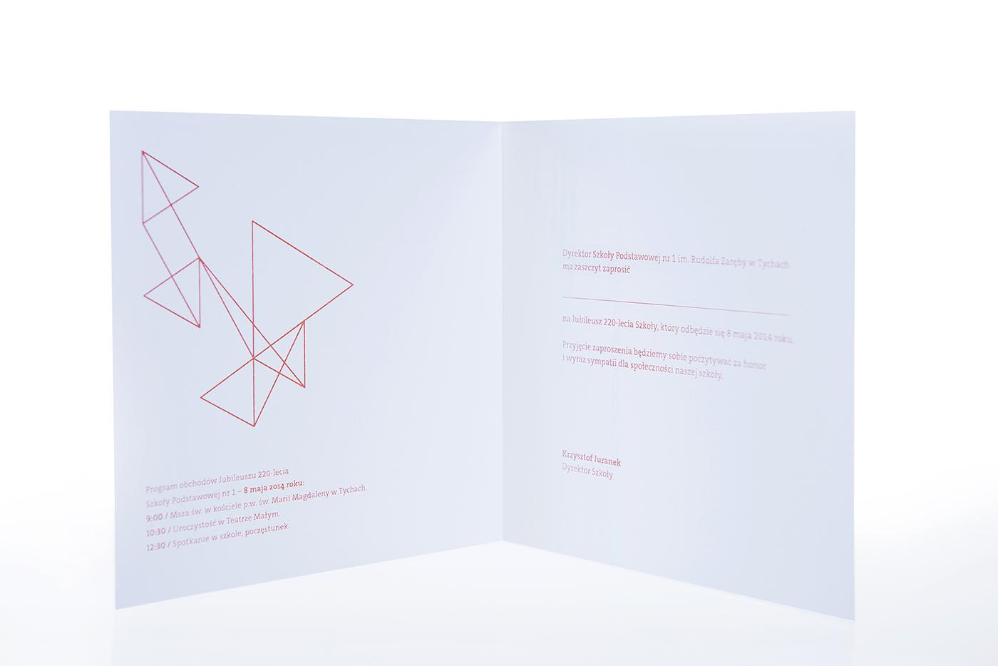 identity metallic school aniversary Printing
