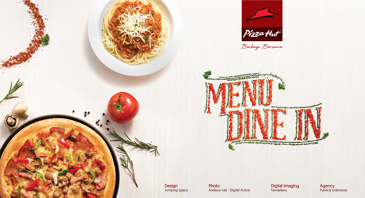 Pizza Hut | Dine In Menu Book on Behance