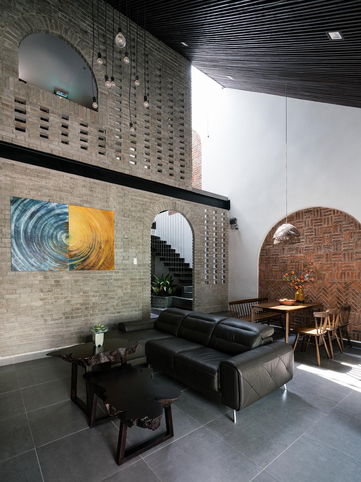 architecture brick Interior