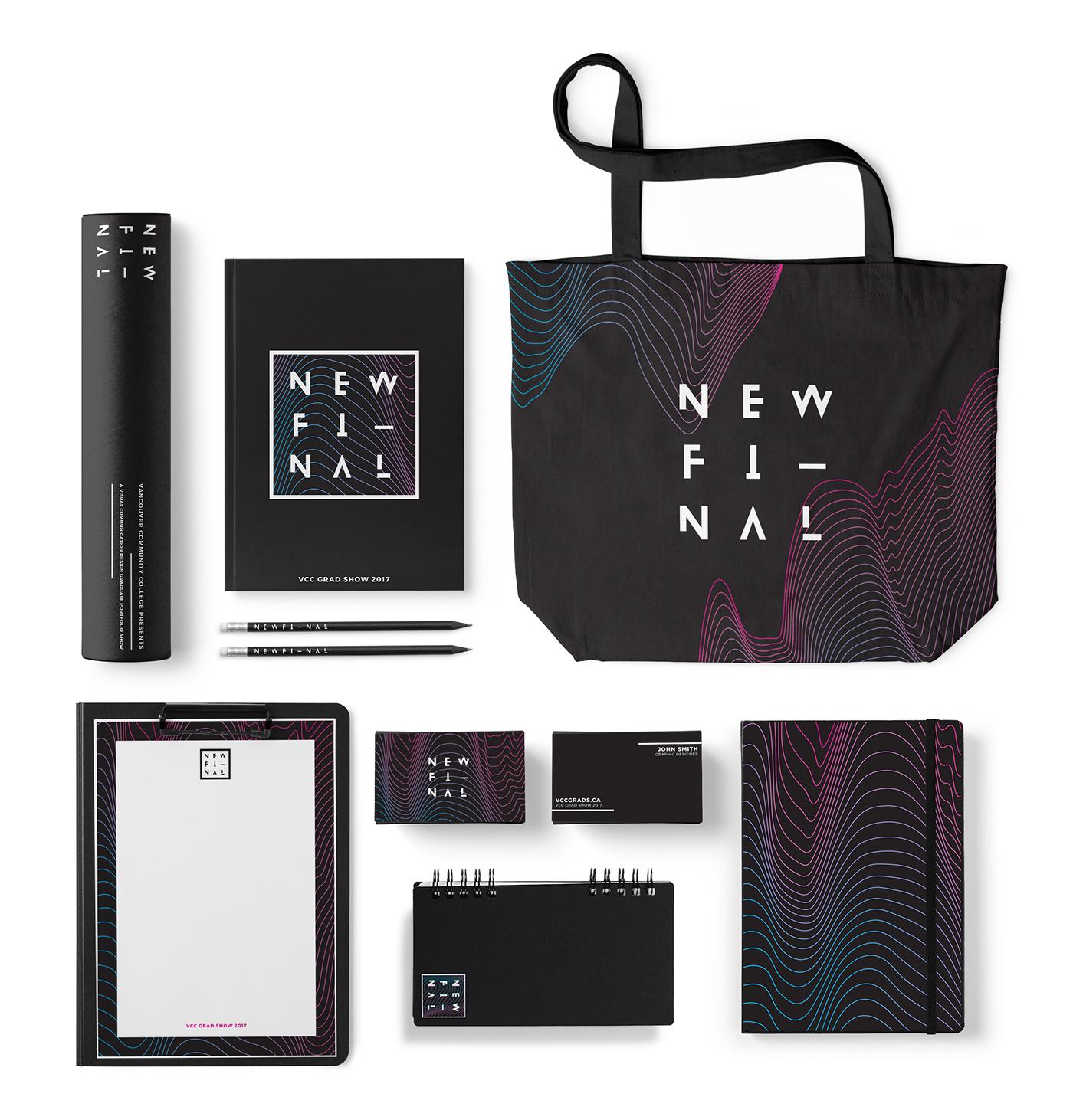 print design  brand identity grad show