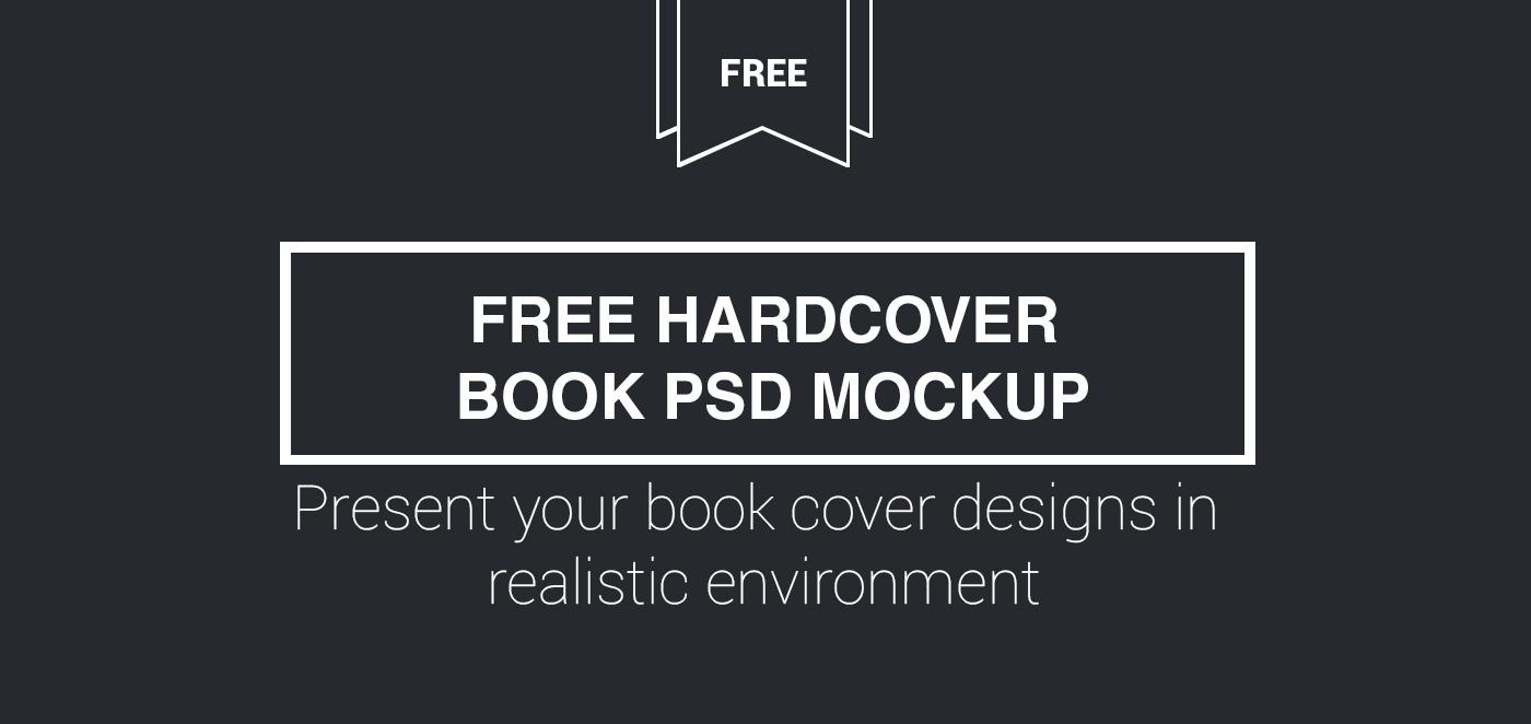free freebie Mockup mockups mock up mock-up psd print book hardcover ebook