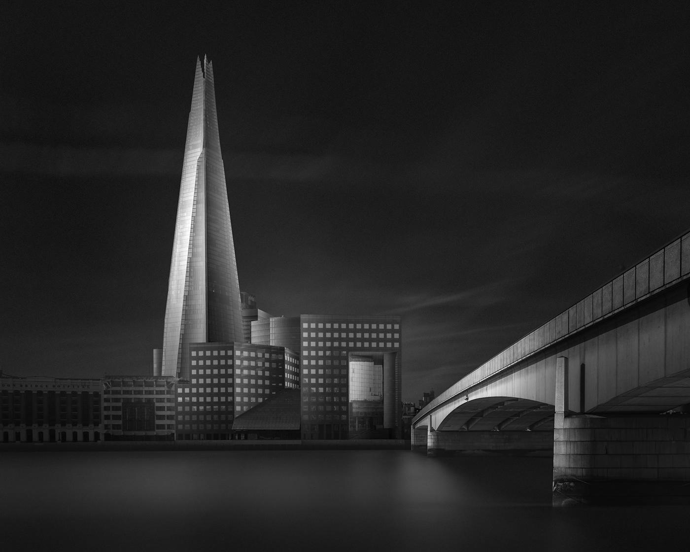 architecture black and white monochrome fine art water